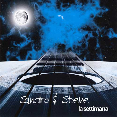 """Copertina CD """"La Settimana"""""""